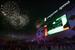 Завершилось открытие спартаковского стадиона концертом и салютом.