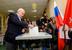 Георгий Полтавченко голосует на выборах в Санкт-Петербурге