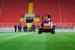 """Агрономы стадиона и руководство """"Спартака"""" надеются, что газон стадиона выдержит суровую российскую зиму и матчи чемпионата поздней осенью и ранней весной. А также игры национальной сборной, которую Леонид Федун зовет в Тушино."""