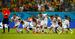 10. Непобедимая Коста-Рика                                          Всего три команды на турнире в Бразилии не проиграли ни одного матча ни в основное время, ни в дополнительное. Первая - Германия - в итоге стала чемпионом мира. Вторая - Голландия - заняла третье место. Третья - Коста-Рика - вынуждена была закончить свое выступление в четвертьфинале. Обыграв в групповой стадии турнира итальянцев и уругвайцев, Коста-Рика в плей-офф строила свою тактику от обороны и дважды дошла до серии пенальти. В 1/8 финала в матче с греками это принесло команде победу, в ¼ финала с голландцами - поражение.