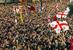 """""""Революция роз""""                                      На выборах 2000 г. Шеварднадзе был переизбран президентом Грузии с результатом 82%. В 2002 г. он объявил, что этот президентский срок станет для него последним, но уйти ему пришлось еще раньше - в конце 2003 г., сразу после парламентских выборов в стране. Их результаты вызвали недовольство оппозиции. Противники Шеварднадзе сочли результаты выборов сфальсифицированными и вышли на улицы. Оппозиция выдвинула Шеварднадзе ультиматум - либо добровольная отставка, либо штурм резиденции. Шеварднадзе выбрал отставку. Исполняющим обязанности президента стала Нино Бурджанадзе, а на выборах 4 января 2004 г. победу одержал Михаил Саакашвили с результатом в 96,27%."""