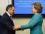 Валентина Матвиенко (спикер Совета Федерации) и Владимир Константинов (спикер крымского парламента)