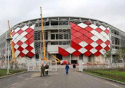 На новом стадионе «Спартака» можно будет расплатиться только картами