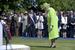 Королева Великобритании Елизавета II. Во время Нормандской операции ей было 18 лет.