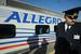 """Allegro                                                              Еще один знаковый для РЖД поезд - Allegro. Он курсирует с конца 2010 г. между Санкт-Петербургом и Хельсинки. Эксплуатацию поезда осуществляет совместное предприятие РЖД и """"Финляндских железных дорог"""" (Suomen Valtion Rautatiet), а построен Allegro был в Италии и входит в семейство электропоездов Pendolino."""