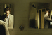 «Двойник»                                          «Двойник» Ричарда Айоади - азбука клаустрофобии, фантасмагории, паранойи. В него входишь как домой, как в детство. Здесь был СССР, здесь был «1984», здесь Кафка сделан Гиллиамом: Айоади недвусмысленно указывает на главные источники вдохновения - гиллиамовскую «Бразилию» и кафкианский «Процесс» в экранизации Орсона Уэллса. От первого - изобретательный, любовно подобранный ретро-антураж антиутопии, от второго - общая атмосфера и постоянный полумрак, создающий эффект монохромной серой картинки (которая изредка вспыхивает яркими красками, когда включается японский поп).