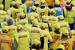 """Участники первомайского шествия партии """"Справедливая Россия"""" в Москве"""