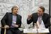 Рустэм Хайретдинов, заместитель генерального директора, InfoWatch; Бенжамин Торонто, директор департамента продвижения серверных продуктов, Microsoft в России
