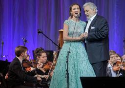 Аида Гарифуллина, победительница конкурса «Опералия», спела у себя на родине в Казани с самим учредителем конкурса