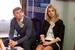 Денис Самоделов, директор по бренд-девелопменту и Анна Щербий, PR Директор, Global Point Agency