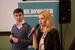 Денис Самоделов, директор по бренд-девелопменту и  Анна Щербий, PR Диретор, Global Point Agency