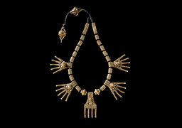 Свадебное ожерелье из золота, Индия, район Четтинад, XIX век