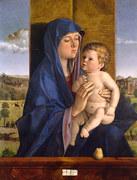 Джованни Беллини. Мадонна с младенцем. Около 1488