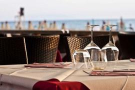 Летнее кафе в Il Poeta работает до октября - пока погода не испортится