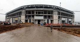 Так стадион выглядит за три месяца до открытия: изнутри и снаружи