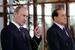 Владимир Путин и Сильвио Берлускони на вилле Certosa