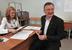 Временно исполняющий обязанности губернатора Рязанской области Олег Ковалев во время голсования.