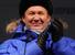 """Глава """"Газпрома"""" Алексей Миллер на торжественной церемонии пуска газа на Бованенковском нефтегазоконденсатном месторождении в Ямало-Ненецком в автономном округе."""