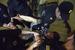 Задержание Василия Дровецкого в одной из квартир дома 10 на Чистопрудном бульваре, где предположительно хранятся незаконные агитационные материалы кандидата на пост мэра Москвы Алексея Навального.