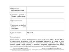 Выписка из ЕГРП (источник: http://navalny.livejournal.com/)