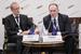 Рудольф Фогль, руководитель департамента персонала, «Райффайзен Банк Интернациональ АГ» и Георгий Абдушелишвили, старший партнер, Ward Howell I