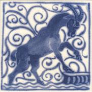 Плитка  Victorian Ceramics с узорами по мотивам работ Уильяма Морриса и Уильяма Де Моргана