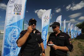 По данным премьер-министра Татарстана Ильдара Халикова, за все дни было продано 770 тысяч билетов. Но с безопасностью проблем не возникало: за весь турнир зафиксировано лишь два случая нарушения общественного порядка