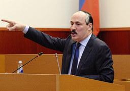 Исполняющий обязанности президента Дагестана Рамазан Абдулатипов