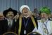 Главный раввин России Берл Лазар, председатель Совета муфтиев России Равиль Гайнутдин и верховный муфтий России Талгат Таджуддин