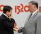 Министр транспорта  Игорь Левитин и президент РЖД Владимир Якунин, 2011 г.