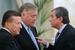 Первый вице-премьер Виктор Зубков, президент РЖД Владимир Якунин и вице-премьер  Игорь Сечин, 2011 г.