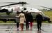 Президент США Барак Обама с семьей
