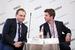 Максим Паршин, заместитель генерального директора, «Почта России» и Виктор Серебряков, вице-президент, директор департамента комплексных проектов, ЛАНИТ