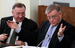 "Президент ""Транснефти"" Николай Токарев и президент РЖД Владимир Якунин, 2013 г."