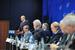 Владимир Путин во время встречи с руководителями энергетических компаний