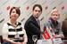 Валерия Миненкова, директор по персоналу Ozon.ru, Михаил Архипов, вице-президент МТС и Надежда Рябова, директор по развитию персонала Unilever
