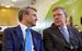 Председатель правления Сбербанка России Герман Греф и председатель Комитета гражданских инициатив Алексей Кудрин