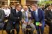 Первый заместитель председателя Банка России Алексей Улюкаев и председатель правления Сбербанка России Герман Греф