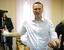 Алексей Навальный в здании городского суда