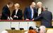 Министр здравоохранения РФ Вероника Скворцова и министр финансов РФ Антон Силуанов на пленарном заседании Государственной Думы РФ.