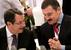 Никос Анастасиадис (слева) на «ты» с русским бизнесом. Но ВТБ (справа – президент крупнейшей «дочки» этого банка Михаил Кузовлев) стал одним из немногих, кто признал, что на Кипре понес потери
