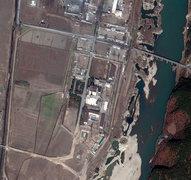 Спутниковый снимок объекта в Йонбене (DigitalGlobe)