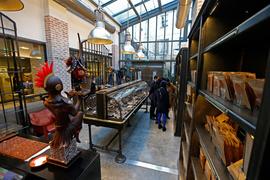 Шоколадная мануфактура находится в здании бывшего гаража Renault