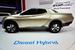 Mitsubishi GR-HEV                                          Mitsubishi показывает гибридный пикап GR-HEV с дизель-электрической силовой установкой.