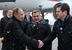 Президент РФ Владимир Путин, президент Татарстана Рустам Минниханов и мэр Казани Ильсур Метшин