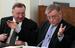 Президент «Транснефти» Николай Токарев и глава РДЖ Владимир Якунин.