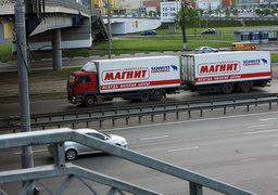 У «Магнита» около 4700 собственных грузовиков - больше всех в стране