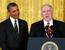 Кандидат на пост директора ЦРУ — помощник президента по нацбезопасности Джон Бреннан (справа).