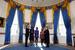 20 января Барак Обама принял присягу в Голубой комнате Белого дома в присутствии жены и дочерей