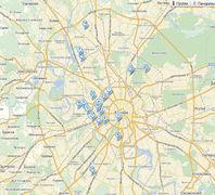 Карта освоения промзон Москвы